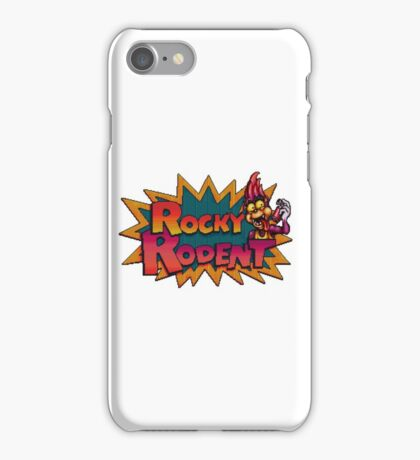 Rocky Rodent - SNES Title Screen iPhone Case/Skin