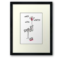 Gone Some where Holy - The Clay Bears Illustrations  Framed Print