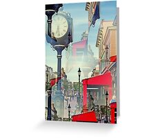 Does anybody  really   know what time  it  is  ?   Greeting Card