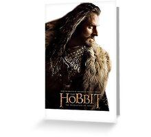 The Hobbit - Thorin Oakenshield Greeting Card