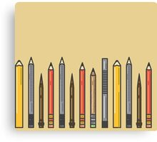 Pencils! Canvas Print