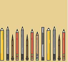Pencils! Photographic Print