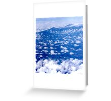 Flying by Mount Kilimanjaro - Kenya Greeting Card