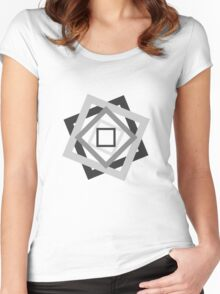 Psychedelic. Women's Fitted Scoop T-Shirt