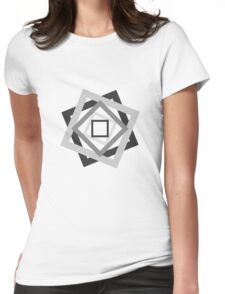 Psychedelic. Womens Fitted T-Shirt