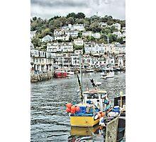 Looe Harbour Photographic Print