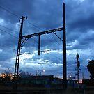 Pakenham line skyscape by Ian Stevenson