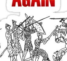Battle of Hastings Annual Re-enactment II Sticker