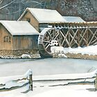 Mabry Mill Winter by jwwalker