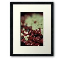 Beans III Framed Print