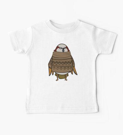 Sweater Sparrow Baby Tee