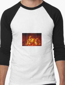 Fireplace Men's Baseball ¾ T-Shirt