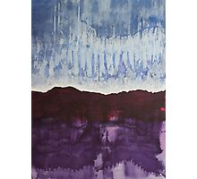 Shades of New Mexico original painting Photographic Print