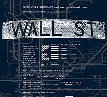 Wall Street by tastypaper