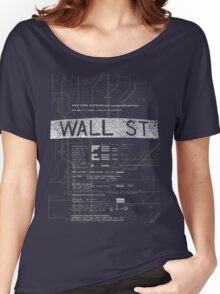 Wall Street Women's Relaxed Fit T-Shirt