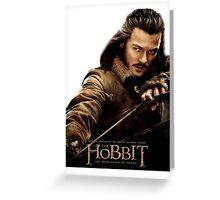 The Hobbit - Bard the Bowman Greeting Card