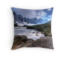 Lake Moraine Throw Pillow
