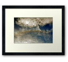 Circumscribed Halo 09-14-2009 Framed Print