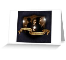 Tom Trumper and the Triwizard Tournament Greeting Card
