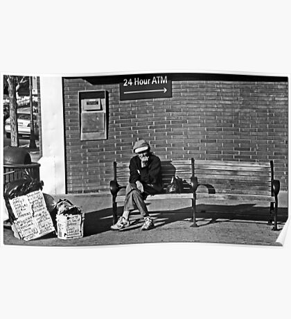Flagstaff Street Scene Poster