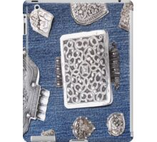 Denim with Sterling 808 iPad Case/Skin