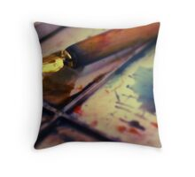 Painted | Colour Throw Pillow