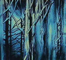 Woods-Gloom by Wayne Grivell