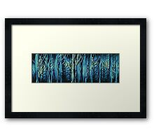 Woods-Gloom Framed Print