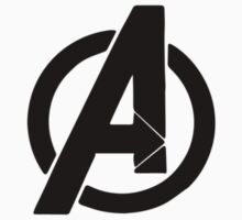 avengers logo comic book shirt Kids Clothes