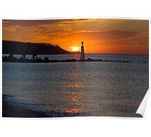 Mount Sinai Inlet Sunset Poster
