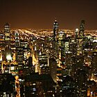 Chicago de noche by Ghelly