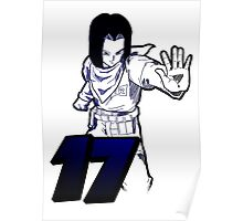 DBZ - Android 17 Poster