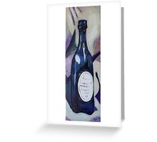 Blue Bottle #1 Greeting Card