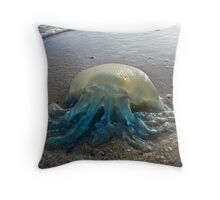 'They Have Landed'- the invasion is here! Throw Pillow