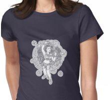 Aberrant Art: Homo Sapiens Novus Womens Fitted T-Shirt