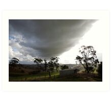 skyscapes #51, big cloud Art Print