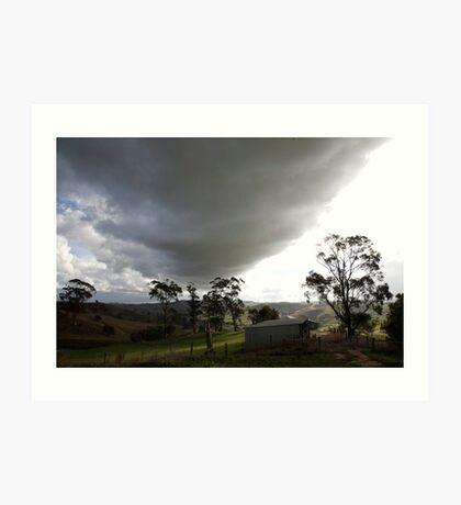 skyscapes #51, big cloud Art Print