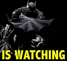 Batman is watching you! by MickeyRemnant