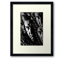 Enemy from Within! Framed Print