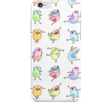 Technicolor Dancing Pugs iPhone Case/Skin