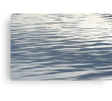 Water ripples in Jackson Lake Canvas Print