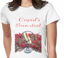 Cupid's Sundial Womens Fitted T-Shirt