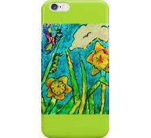 Sunlit Summer Field iPhone Case/Skin
