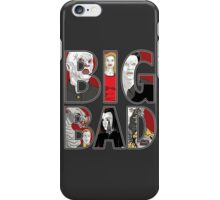 Buffy the Vampire Slayer - BIG BAD Variant iPhone Case/Skin