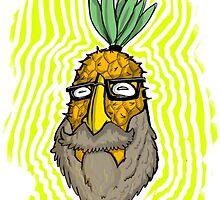 Pineapple Head by kingthoyle