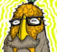 Pineapple Head Sticker