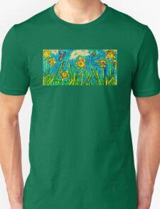 Sunlit Summer Field Unisex T-Shirt
