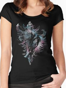 Seashell Elaborated Women's Fitted Scoop T-Shirt