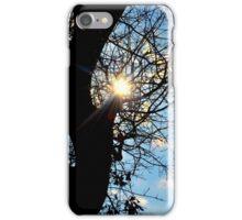 Sun Through the tress iPhone Case/Skin