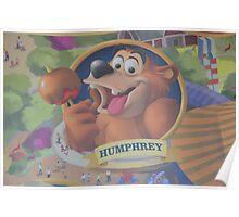 Disney HUMPHREY THE BEAR  Poster